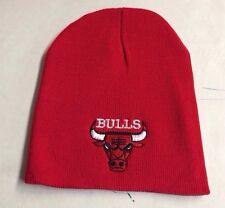 Chicago Bulls Red Beanie, New Winter Hat , Scull Cap