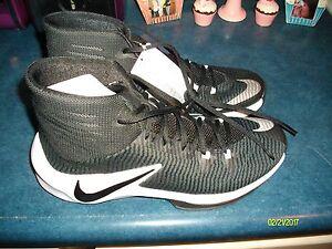 Clear de baloncesto 9 o Tama para hombre Zoom Nike negro Out Zapatillas blanco Nuevo TBInwp6x6