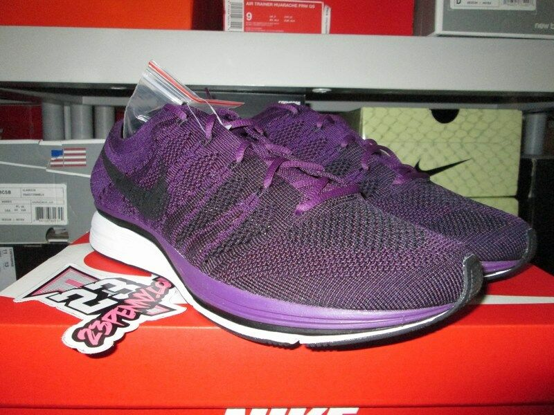 NIKE FLYKNIT TRAINER QS NIGHT PURPLE BLACK AH8396 500 Price reduction Cheap and beautiful fashion