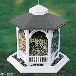 ARTLINES LARGE GAZEBO BIRD FEEDER 10# SEED CAPACITY, Size ...