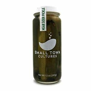 Near Sour Pickles Raw Fermented Probiotic Natural Gluten ...