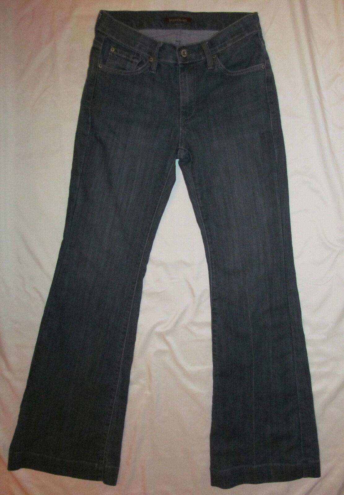 JAMES JEANS HUMPHREY slimming lifting  PROMENADE dusty bluee flare jeans 27 MINT