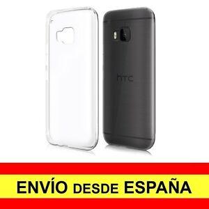 Funda-Silicona-para-HTC-ONE-M9-Carcasa-Transparente-Protector-TPU-a2236