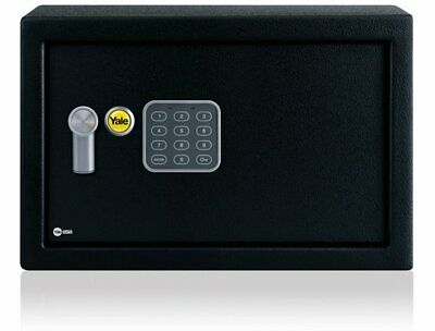 YALE 31CM 310MM BLACK VALUE COMPACT SAFE YSV//200//DB1 NEW BOXED-FREE UK DELIVERY!