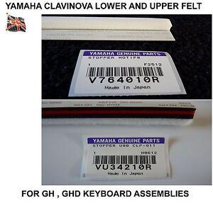YAMAHA CLAVINOVA feutre Paire clp-120 clp-150 clp-910 CLP-930 cvp-970 cvp-205m