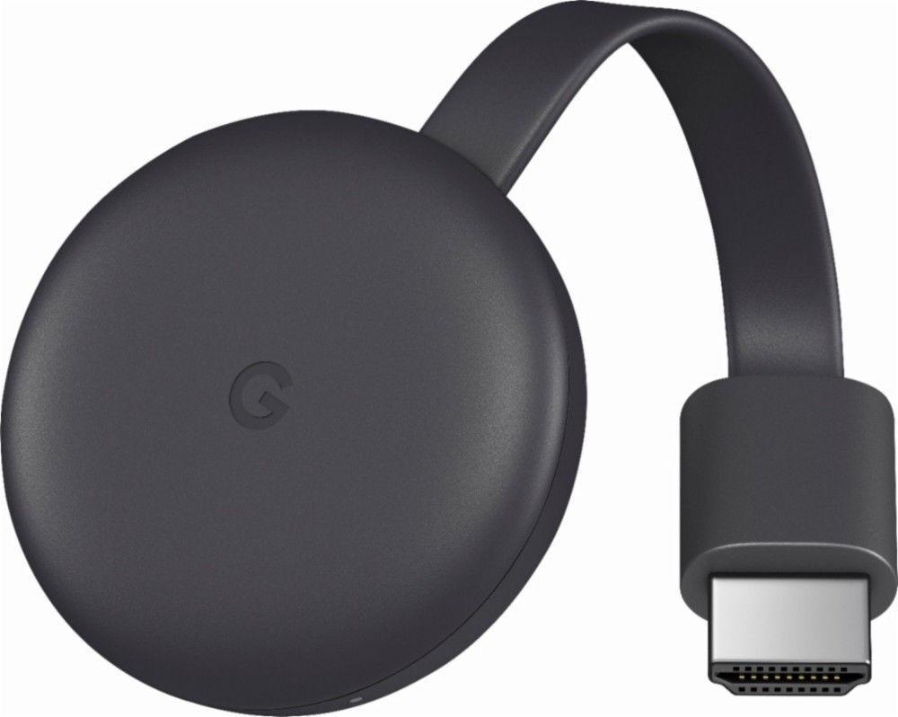 s-l1600 Google Chromecast (2018) (GA00439-US)  Charcoal  (3rd Generation)