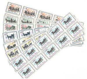 DEALER-STOCK-SAN-MARINO-MNH-Nuovi-1969-Horse-Coaches-7v-10-SETS-s32724