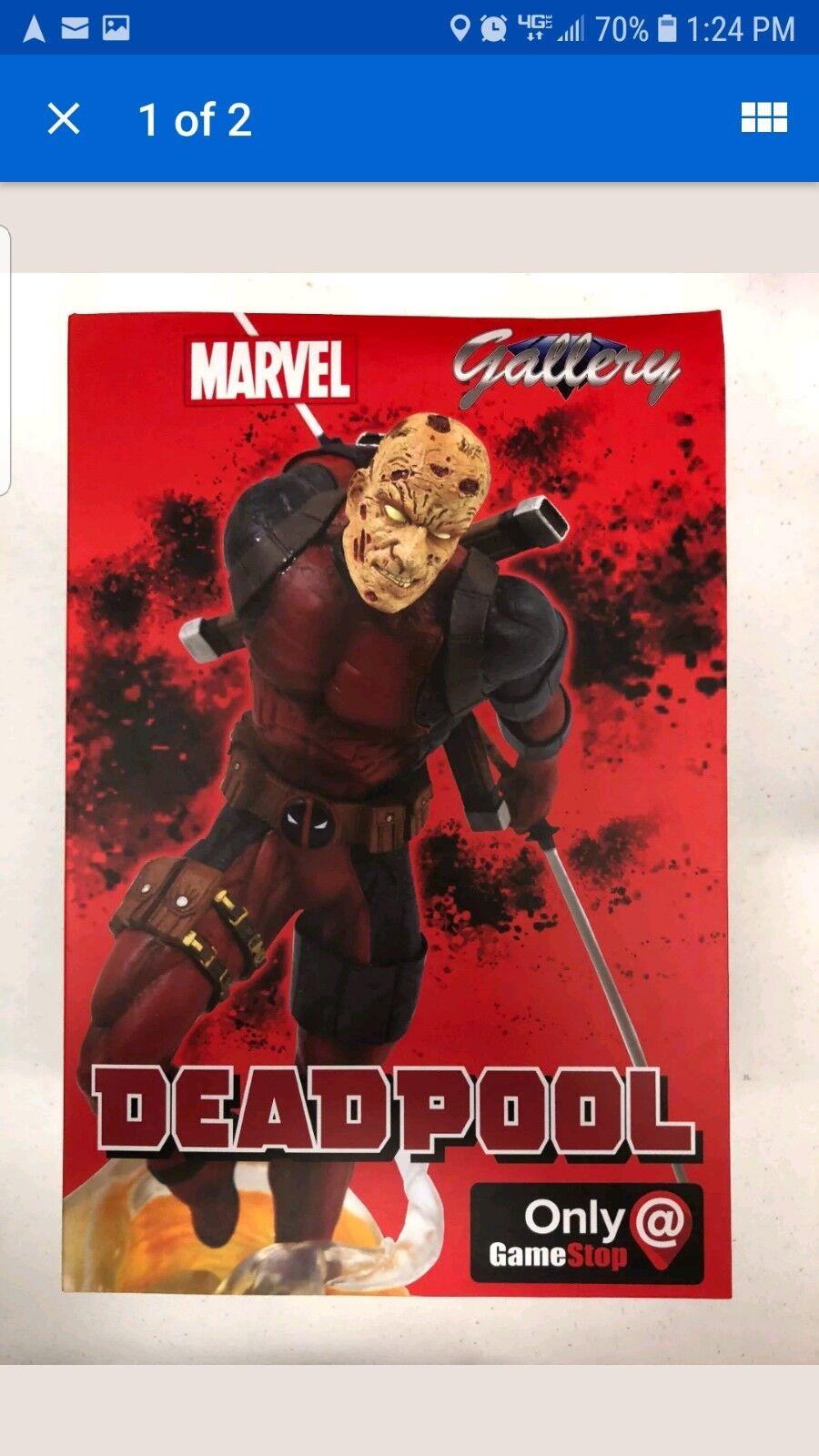 Marvel Deadpool Unmasked Unmasked Unmasked 9  PVC Figure GameStop Exlusive Diamond Gallery 9ff78a