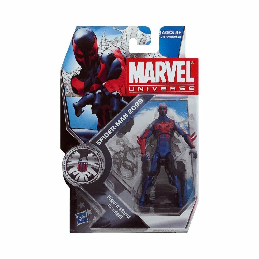 Marvel  Comics Universe Spiderman 2099 3.75  toy Action Figure VERY RARE