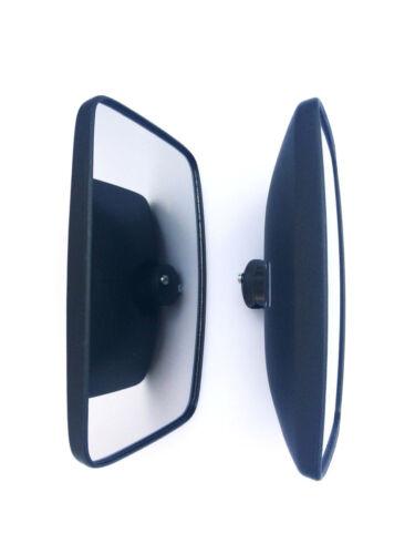 2x Außenspiegel ø10-23 mm Seitenspiegel 245x160 mm Universal LKW Mercedes Bagger