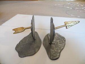 Vintage Michael Aram Contemporary Heart Amp Arrow Metal Art