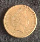 2000 $1 DOLLAR 10 CENTS MULE DOUBLE RIM ERROR AUSTRALIA HIGH GRADE RARE aEF