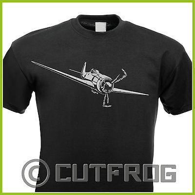 Design T-Shirt Fokke Wulf Flugzeug Aircraft FW 190 Jäger Bomber Pilot Luftwaffe
