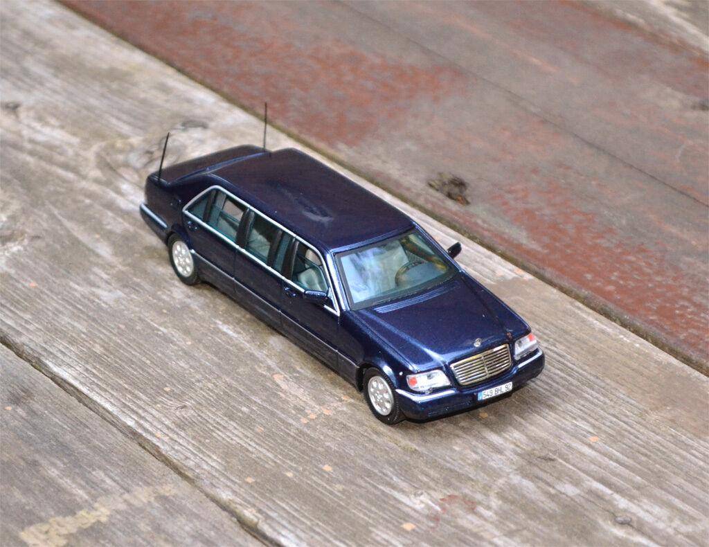 1   43 1998 mercedes-benz s210 l pullmann - vitesse 1 43 - in portugal