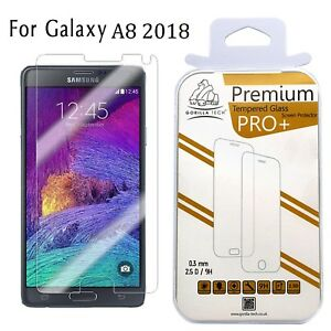 Samsung-Galaxy-A8-2018-Veritable-Gorilla-Film-Protecteur-Ecran-en-Verre-Trempe