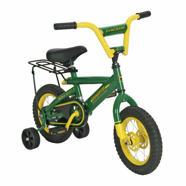 Rc2 John Deere 34938 12in Boys Bike Bicycle W Adjustable Training Wheels For Sale Online Ebay