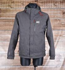 Millet Hooded Men Jacket Coat Size I-50 Small S, Genuine