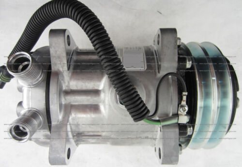 SD7 A//C Compressor for John Deere Kobelco 24100P4816S019 425-963-A230 5752