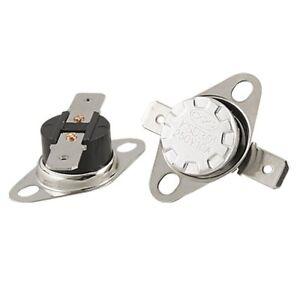 KSD301 N//C 145 C 10A normalmente chiuso Interruttore Di Temperatura bimetallica del disco klixon