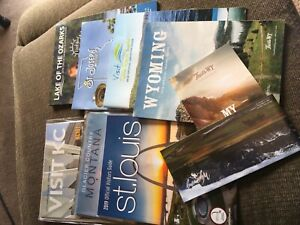 Lot of Official State and City Travel Guides 2018-2019 Montana Missouri Wyoming