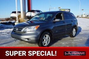 2011 Honda CR-V 4X4 EX-L Leather,  Heated Seats,  Sunroof,  A/C,