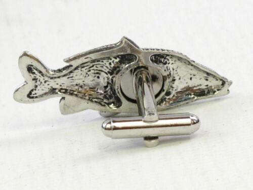 Common Carp Fish  Fine English Pewter Cufflinks Gift Mens Boxed