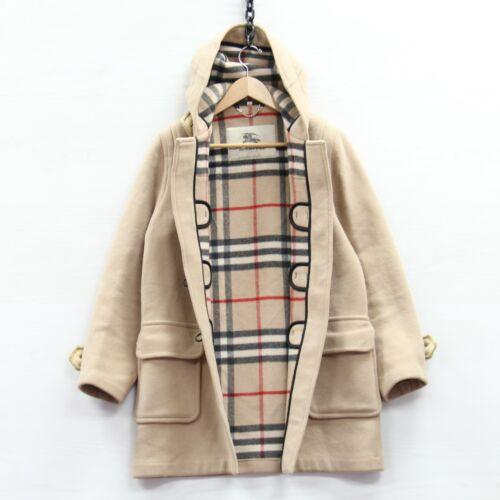 Burberry London Wool Duffel Coat Jacket Womens Si… - image 1
