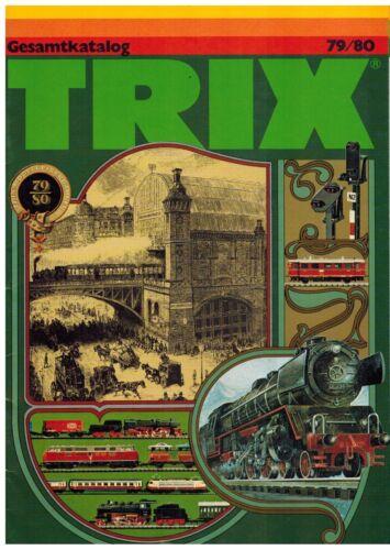 1980 Trix Gesamtkatalog 1979