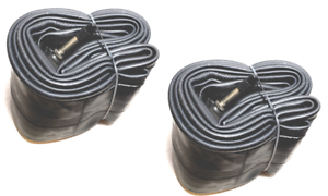 "2PACK KENDA Presta Valve 26/"" x 4.0-4.80/"" 4/"" Fat Bike Tire Inner Tube /& adapters"
