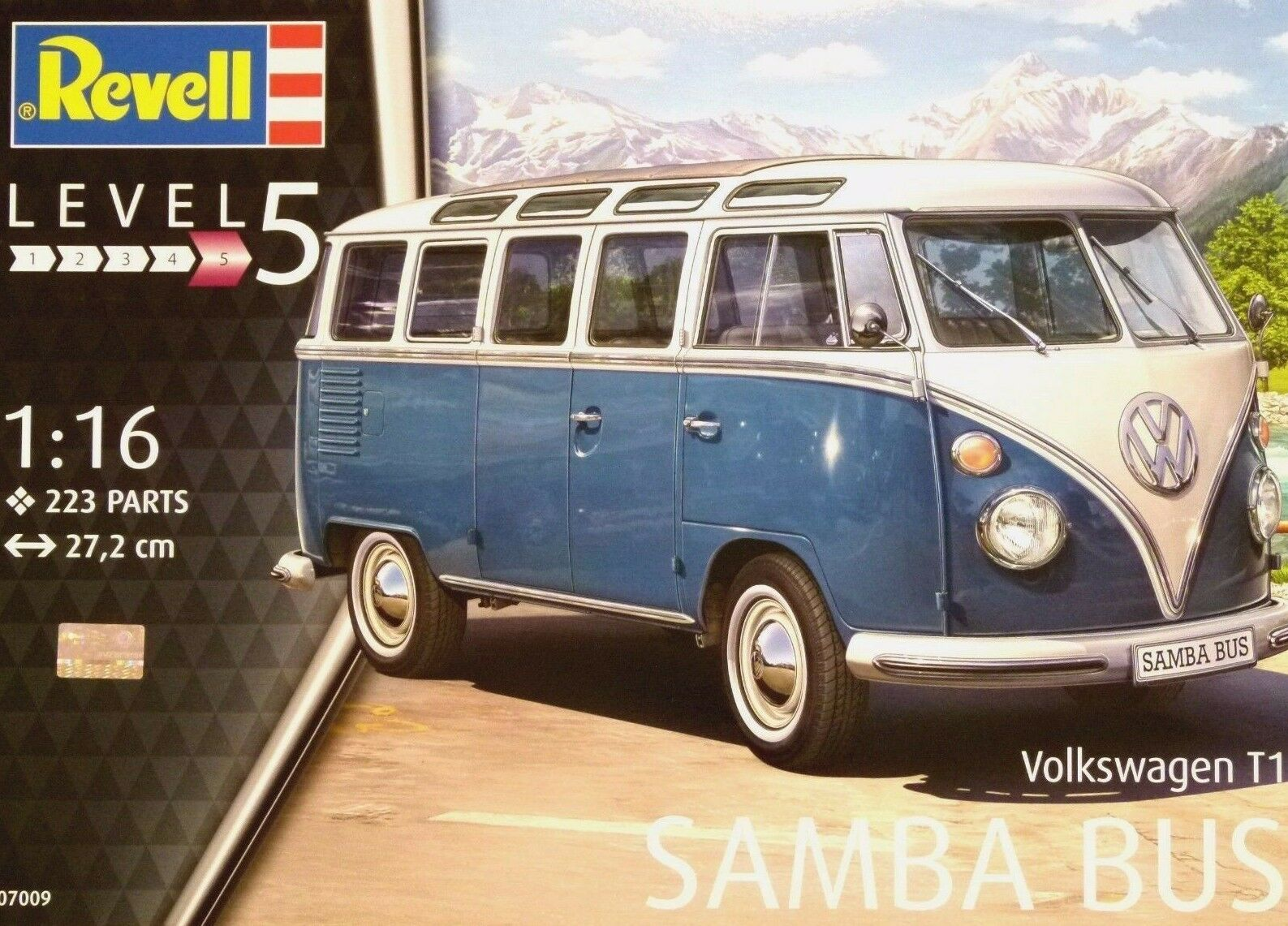 Revell 1 16 Volkswagen T1 Samba Bus Model Kit