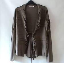 MAIS IL EST OU LE SOLEIL Green Cotton LAGENLOOK Quirky Green Jacket Blazer M