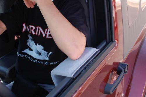 t NEW ARMSAVER BLACK  TRUCK ARMREST,window car arm rest pad 1 ██████