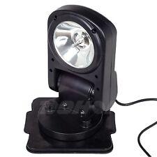 55w 12V 360 Degree HID Xenon Search Light Fold Spot Remote Cigarette Lighter ATV