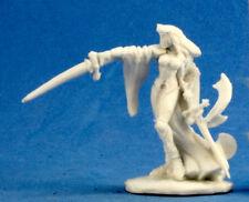 1 x KRISTIANA - BONES REAPER figurine miniature jdr rpg d&d fighter 77223