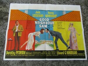 Vintage-Movie-poster-Original-Good-neighbour-Sam-101-x-75-cm-1966