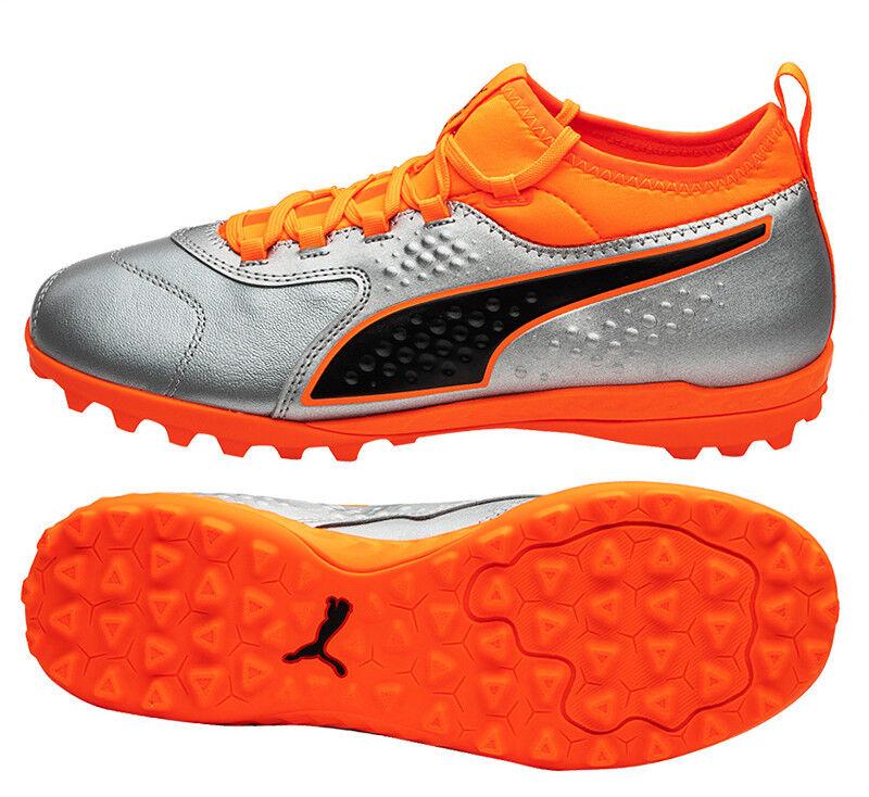Puma ONE 3 Lth TT (10474501) Soccer Schuhes Football Cleats Futsal Turf Stiefel