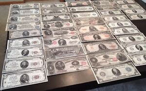 Reproduction-Collection-1880-1929-United-States-Paper-Money-US-Banknotes-40-Diff