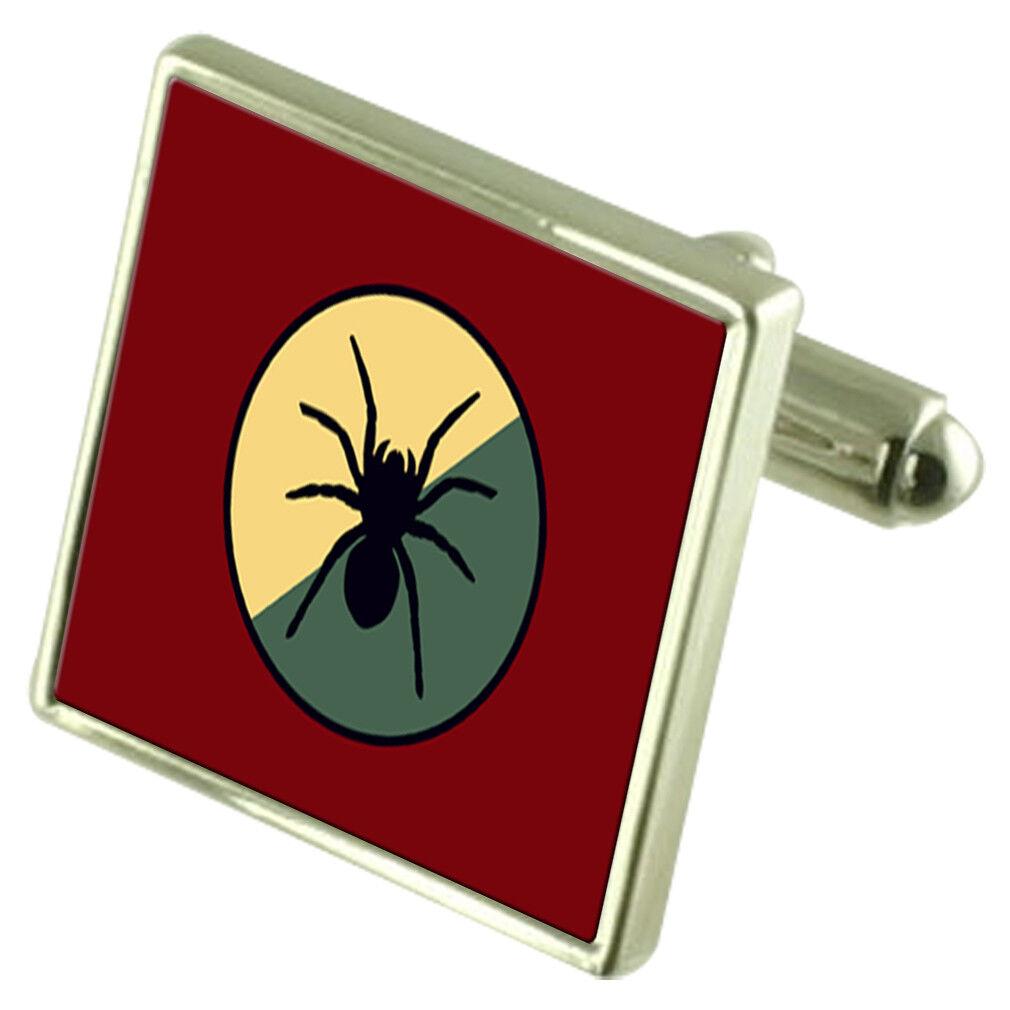 Esercito 1 1 1 intelligencebsurveillance RICOGNIZIONE BRIGATA Gemelli in argentoo 925 f047cd