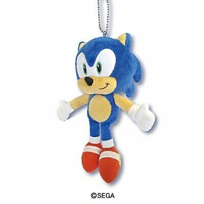Skjapan Sega Sonic The Hedgehog Plush Soft Stuffed Toy Doll Ball Chain 20cm 7 8