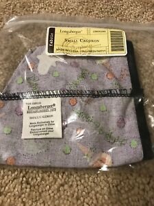 NEW-LONGABERGER-FABRIC-LINER-FOR-SMALL-CALDRON-BASKET