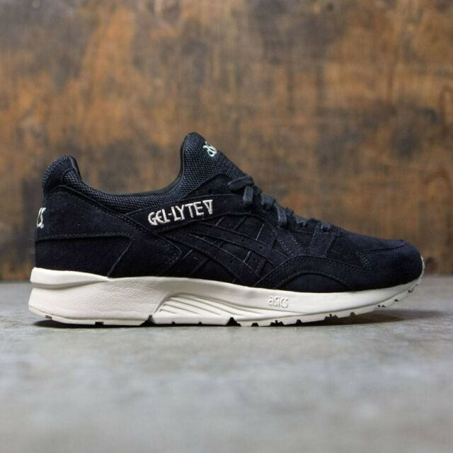 785a20f2 Asics Gel-Lyte V Suede Black Trainers Shoes UK 7, 7.5, 8, 8.5, 9, 9.5, 10,  10.5