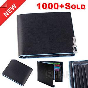 OZ Genuine Leather Wallet Purse Bifold Stylish Short Slim Mens Card Holder