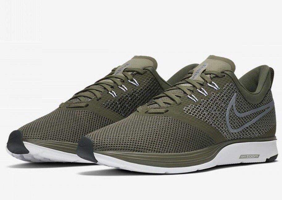 6a0484a96a3 Nike Zoom Strike AJ0189-300 New Men s Green Black Running Training Training  Training Shoes 944cb8