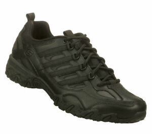 cheap price new appearance top brands Details about Skechers for Work Women's 76492 Compulsions Chant Lace-Up  Work Shoe