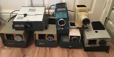 Job Lot 7 x Vintage 35mm Slide Projectors, Spares Repair Props or Display Items