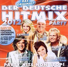 DER DEUTSCHE HITMIX - DIE PARTY 2012 CD NEU