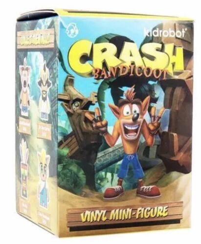 Kidrobot Crash Bandicoot Blind Box Mini Series Figure NEW Toys Collectible