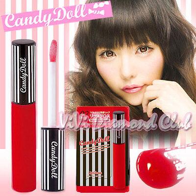 JAPAN Candy Doll Lip Gloss JUICY CHERRY 6.8g NEW