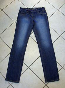 TOM-TAILOR-Jeans-034-Hanna-034-Gr-DE-40-blau-stonewashed-Slim-Line-wie-NEU