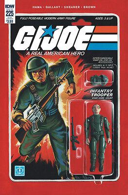 GI JOE A REAL AMERICAN HERO #268 1//10 VARIANT RETAILER INCENTIVE G.I JOE